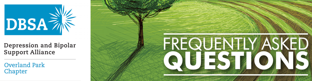 DBSA Overland Park Logo FAQs
